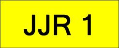 JJR1 Super VVIP Plate