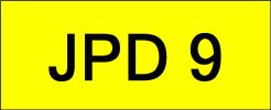 JPD9 VVIP Plate