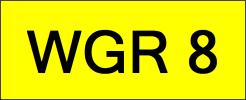 WGR8 VVIP Plate