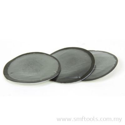 1 1/4in 32mm Mini Round Feather Edge Tube Patch