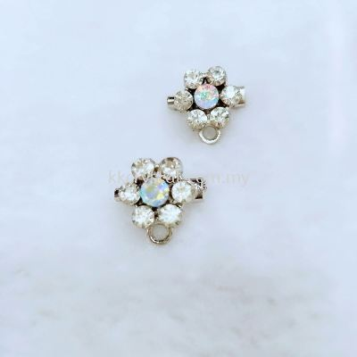 Baby Brooch with Hole, Code 006101 (6+1), 10pcs/pack