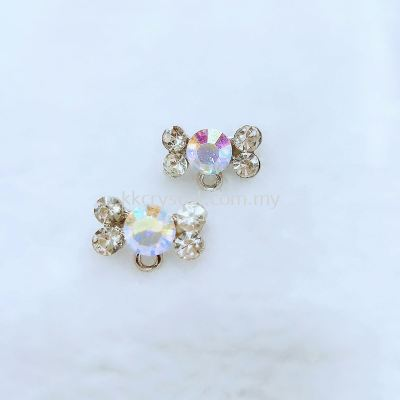 Baby Brooch with Hole, Code X407#, 10pcs/pack