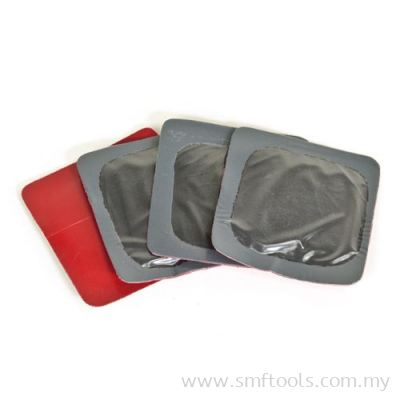 1 7/8in (47mm) Square Universal Repair (Red Poly) in Large Bucket