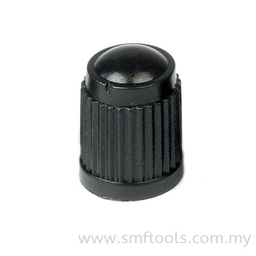 Black Plastic Valve Cap (TR VC-8) (TPMS Compatible) Valve Caps and Cores Valve Accessories and Tools Tire Valves and Accessories