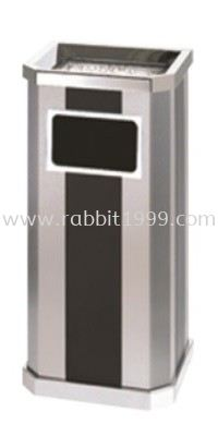 STAINLESS STEEL + PRINT COATING DIAMOND SHAPE BIN - LD-DAB-089/A