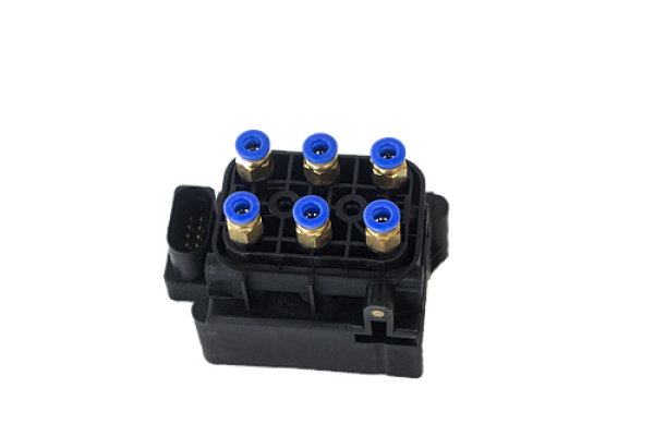 Audi Q7 Airmatic Suspension Shock Valve Block