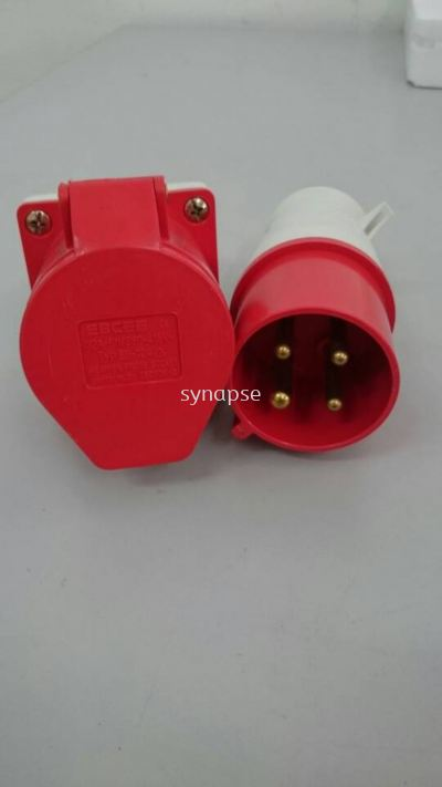 4pin 32 amp connector
