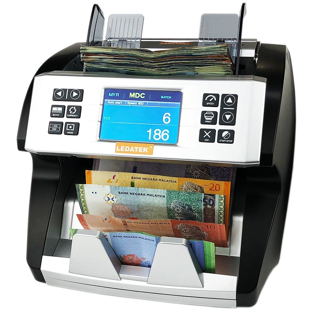 LEDATEK CX-9600 BANKNOTE COUNTER Banknote Counter Johor Bahru, JB, Johor, Malaysia. Supplier, Suppliers, Supplies, Supply | LEDA Technology Enterprise