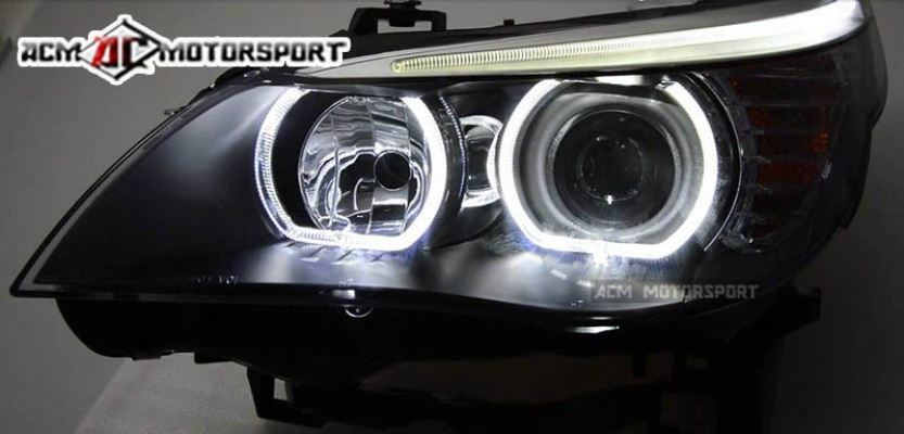 Bmw E60 headlight F10 look