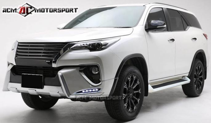 toyota fortuner 2017 LX mode bodykit