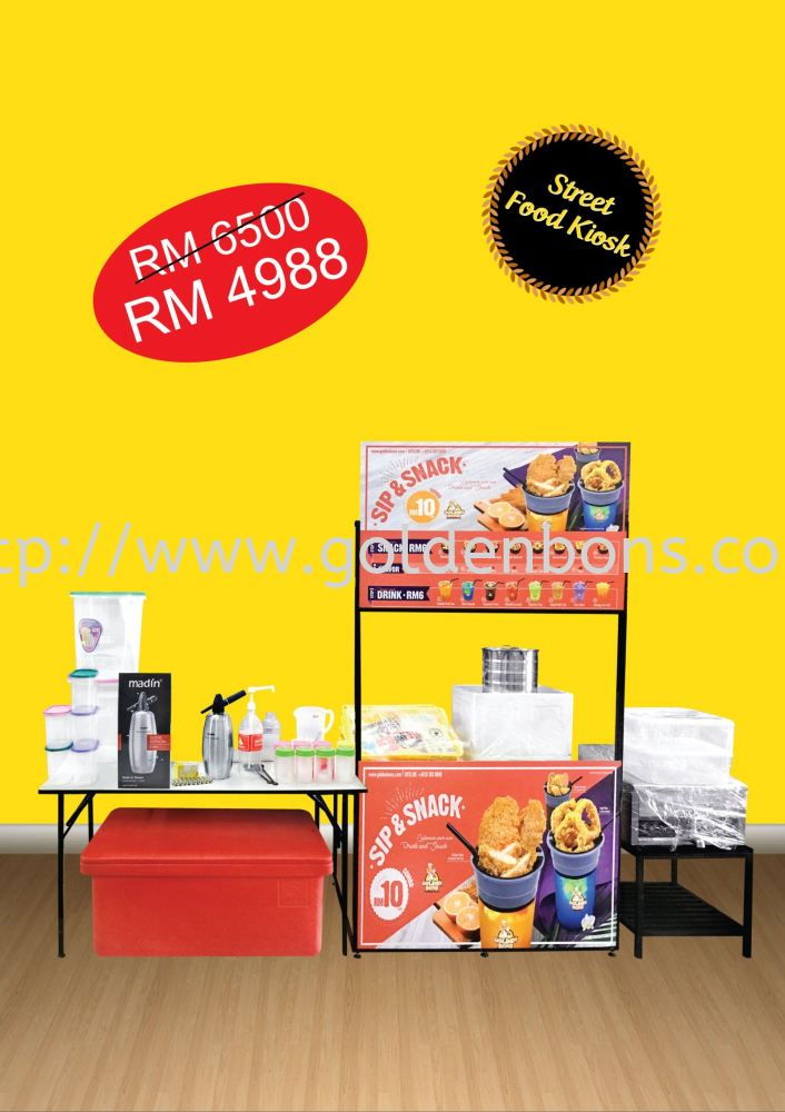 Street Food Kiosk (Package B)