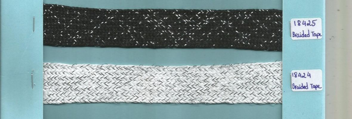 SHOELACE braided cotton tape