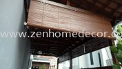 Outdoor Blinds Wooden Blinds Blinds