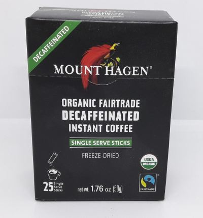MTH-INSTANT COFFEE*DECAFFEINATED-ORGANIC-2G*25'S
