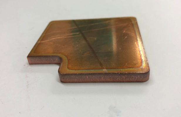 Construction Copper Plate Fiber Laser Cutting