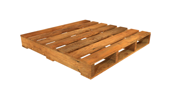 Double-Faced Non-Reversible Pallet