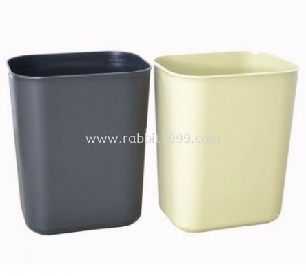 ROOM BIN 14 Litres - fire resistance - square