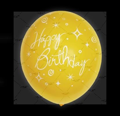 "12""Happy Birthday - Sunflower"