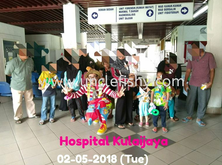 Hospital Care Project at Hospital Kulaijaya
