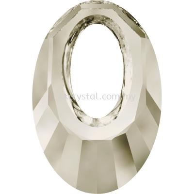 Swarovski 6040 Helios Pendant, 20mm, Crystal Silver Shade (001 SSHA), 1pcs/pack