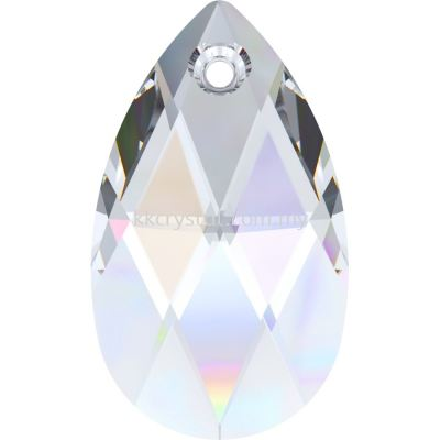 Swarovski 6106 Pear Pendant, 16mm, Crystal AB (001 AB), 1pcs/pack