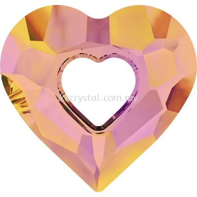 Swarovski 6262 Miss U Heart Pendant, 26mm, Crystal Astral Pink (001 API), 1pcs/pack