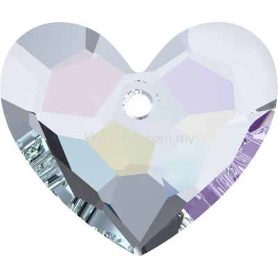Swarovski 6264 Truly In Love Heart, 36mm, Crystal AB (001 AB), 1pcs/pack
