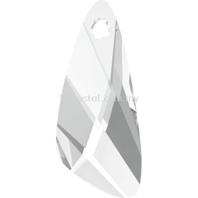 Swarovski 6690 Wing Pendant, 27mm, Crystal (001), 1pcs/pack