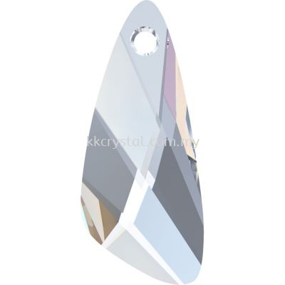 Swarovski 6690 Wing Pendant, 27mm, Crystal AB (001 AB), 1pcs/pack