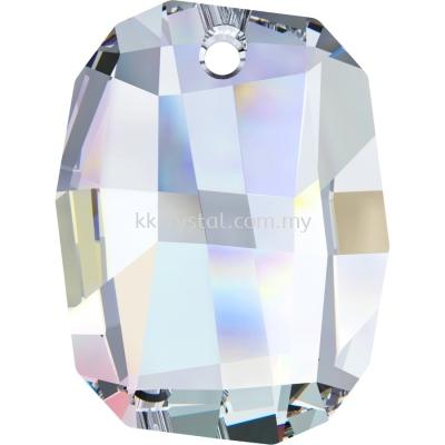 Swarovski 6685 Graphic Pendant, 28mm, Crystal AB (001 AB), 1pcs/pack