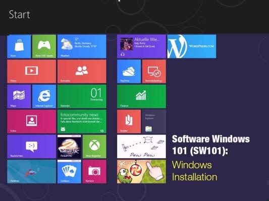 Windows XP, 7, 8 & 10 Installation