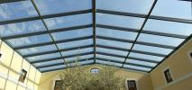 Laminated Glass Skylight Laminated Glass Skylight Awning