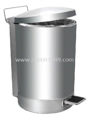 RABBIT STAINLESS STEEL PEDAL BIN - 32lt - RPD-080/P