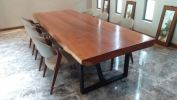 """DINING TABLE """"MERBAU""""  Solid Table Top"""