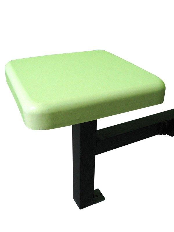 SQ 12'x12'x50mmH Fibreglass Chairs Top Fibreglass Furniture