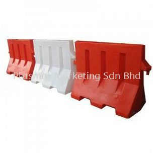 SAFETY BARRIER WHITE/RED