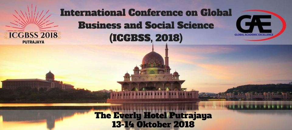 International Conference on Global Business and Social Science (ICGBSS 2018) October 2018 Year 2018 Past Listing