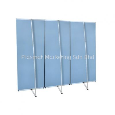 L STAND STRAIGHT BUNTING (SL2-TRIPLE PANEL)