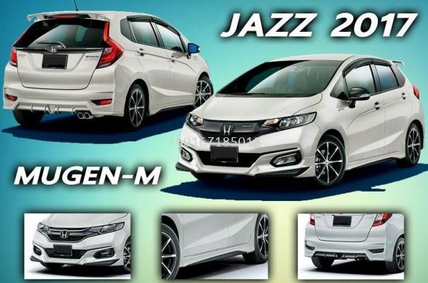2014 2015 2016 2017 2018 2019 2020 honda jazz fit gk mugen bodykit add on upgrade performance look ppu material new set