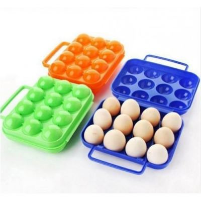 CAMPING EGG CONTAINER 12PCS