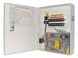 12VDC Power Supply in Metal Casing