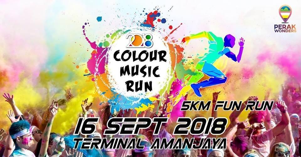 Colour Music Run 2018 September 2018