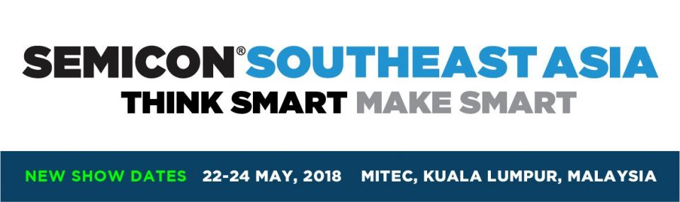 SEMICON Southeast Asia 2018 May 2018 Year 2018 Past Listing