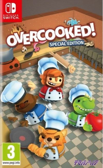 Nintendo Switch Overcooked!