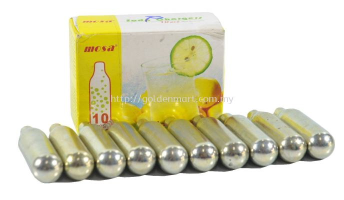 MOSA SODA CHARGER CO2 (10PCS)
