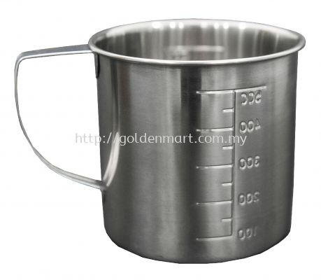 STAINLESS STEEL COUNTING CUP (500ML)