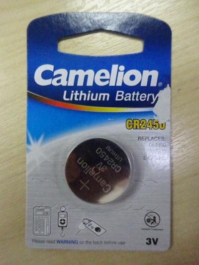 CAMELION CR2450 LITHIUM BATTERY FOR ELITECH RC-4 & RC-4HC