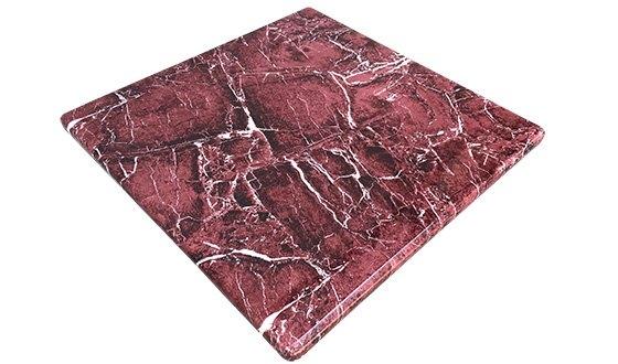 Red Granite Marble Texture Tabletop Tabletop