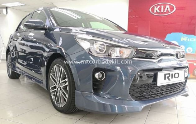 KIA RIO 2018 HATCHBACK BODYKIT WITH SPOILER