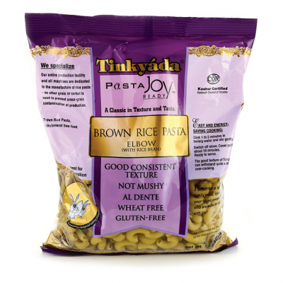 TY-ELBOW-BROWN RICE PASTA-454G